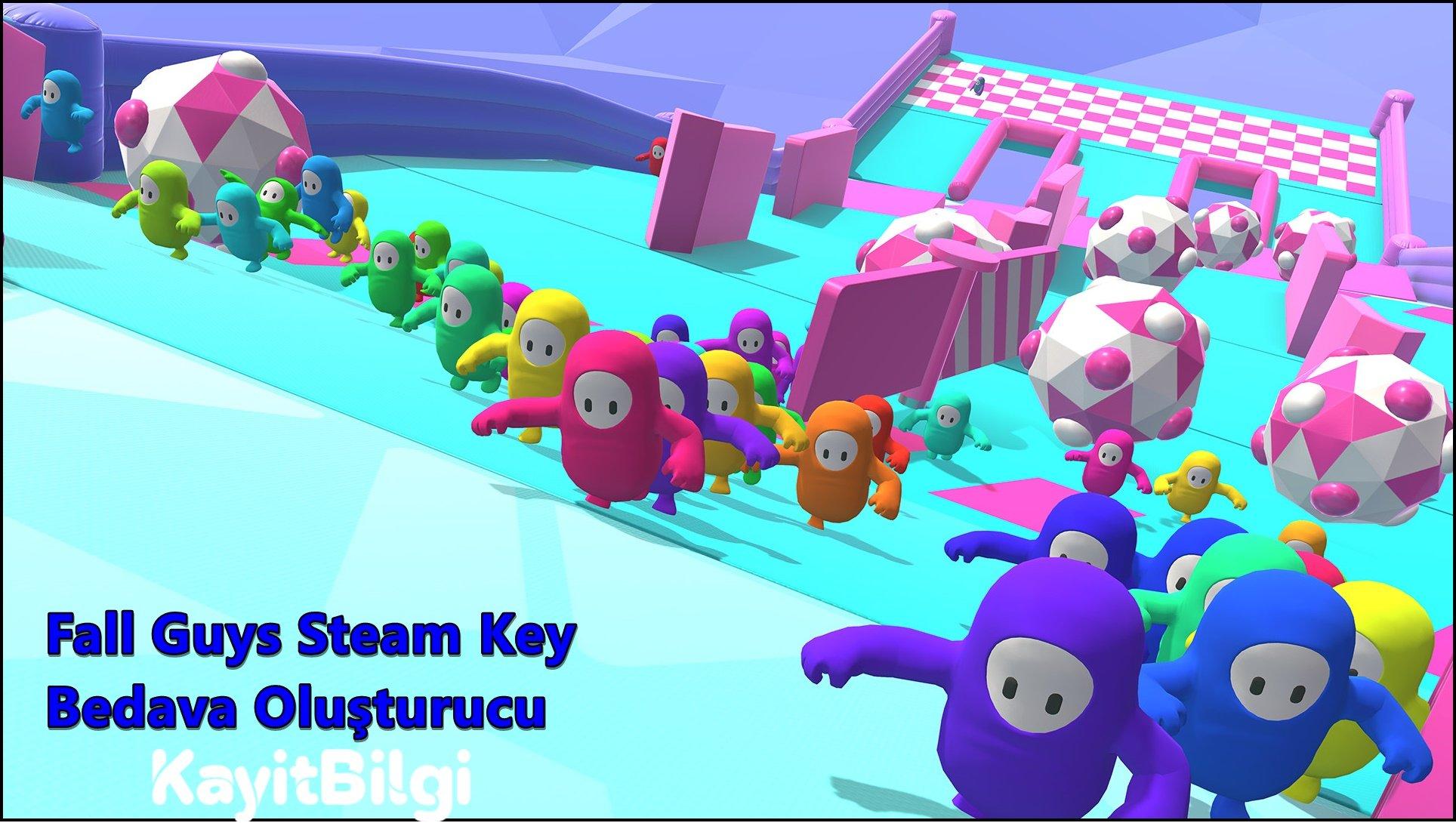 Fall Guys Steam Key Bedava